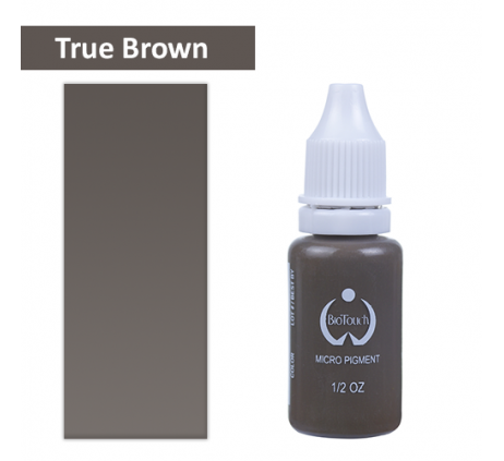 Пигмент Biotouch true brown 15 мл