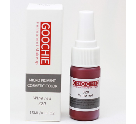 ПИГМЕНТ ДЛЯ ТАТУАЖА GOOCHIE 320 WINE RED